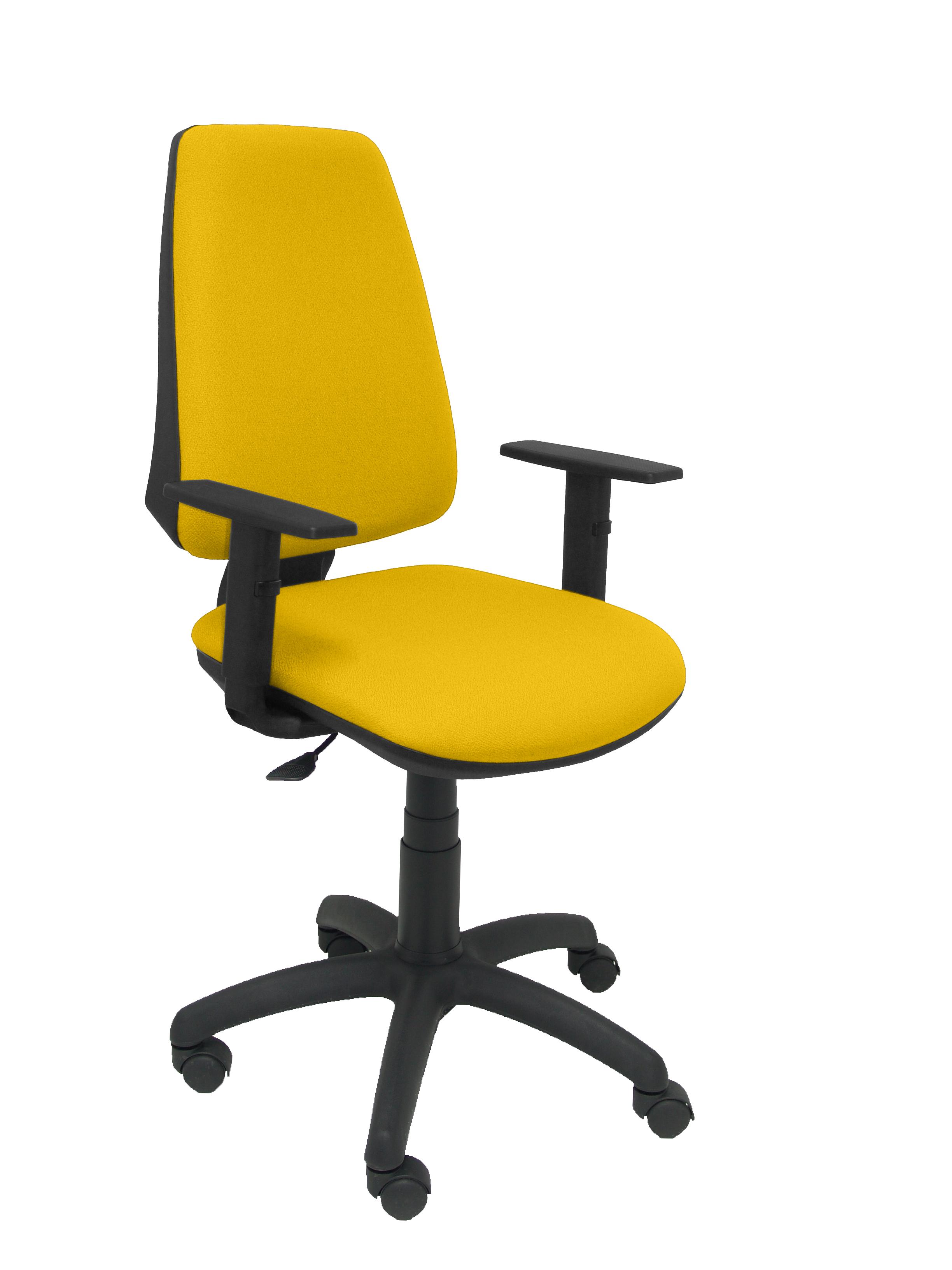 Silla Elche CP bali amarillo brazos regulables