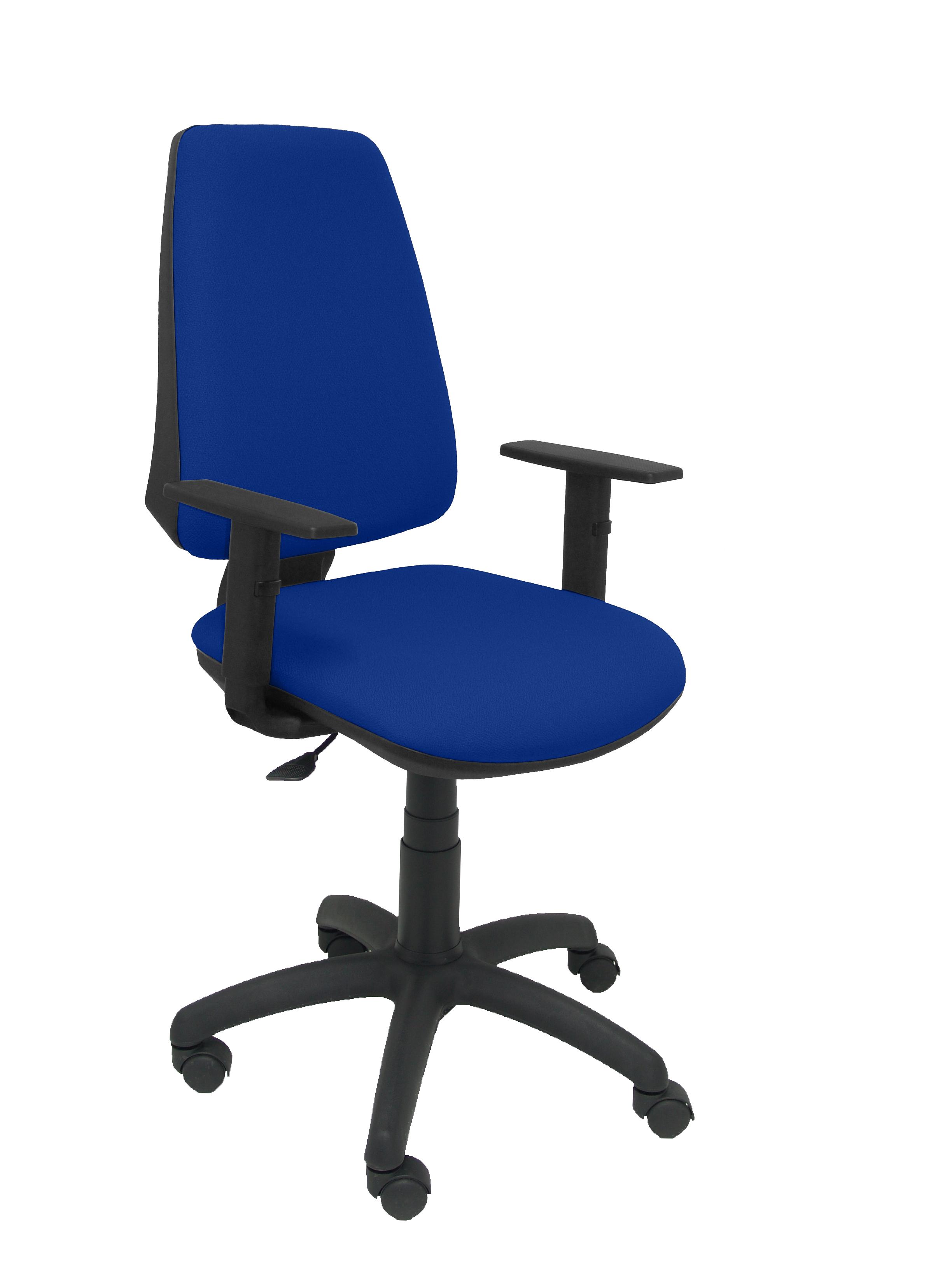 Silla Elche CP brazos regulables bali color azul