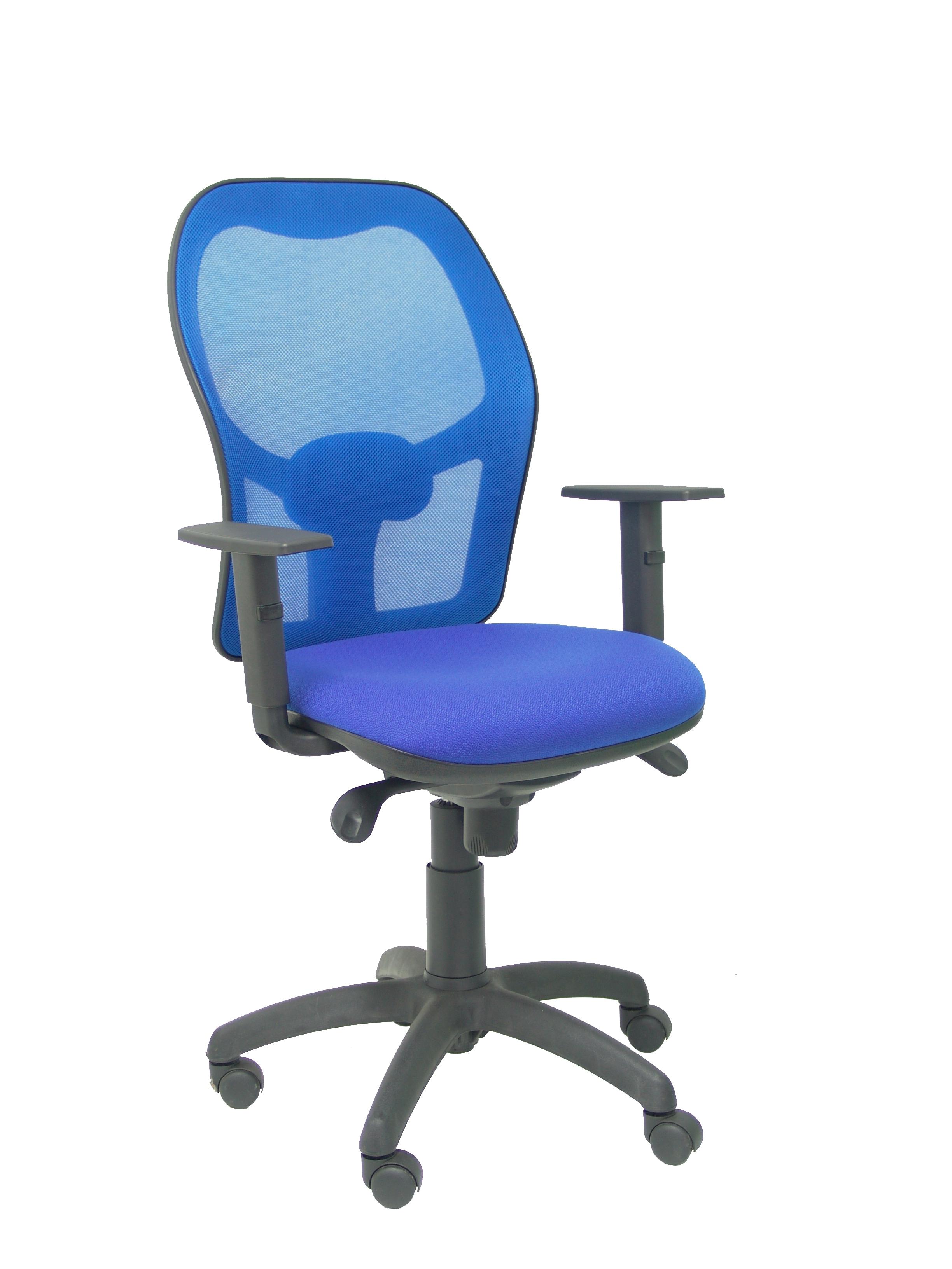 Silla Jorquera malla azul asiento bali azul