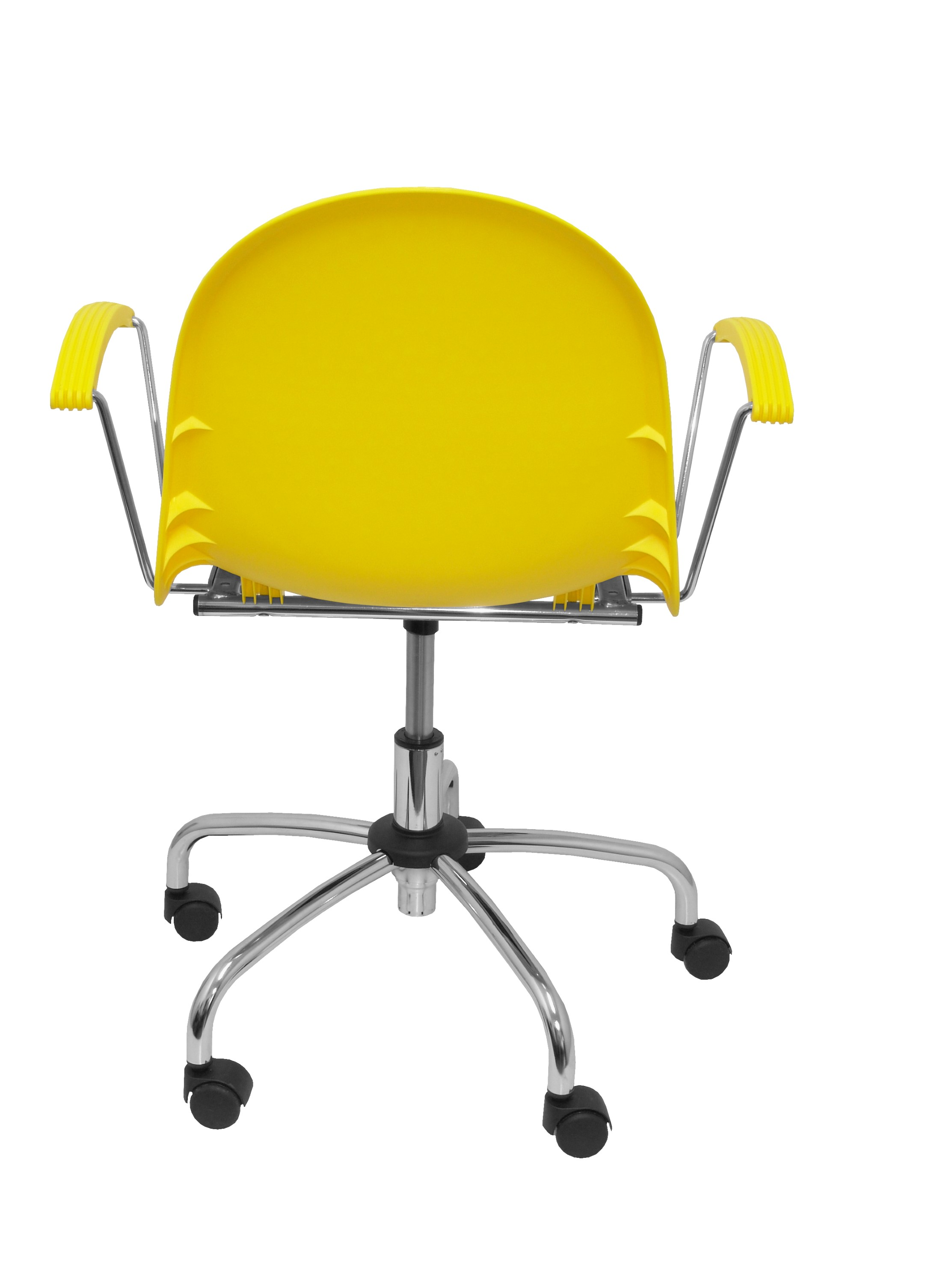 Silla  Ves giratoria color amarillo