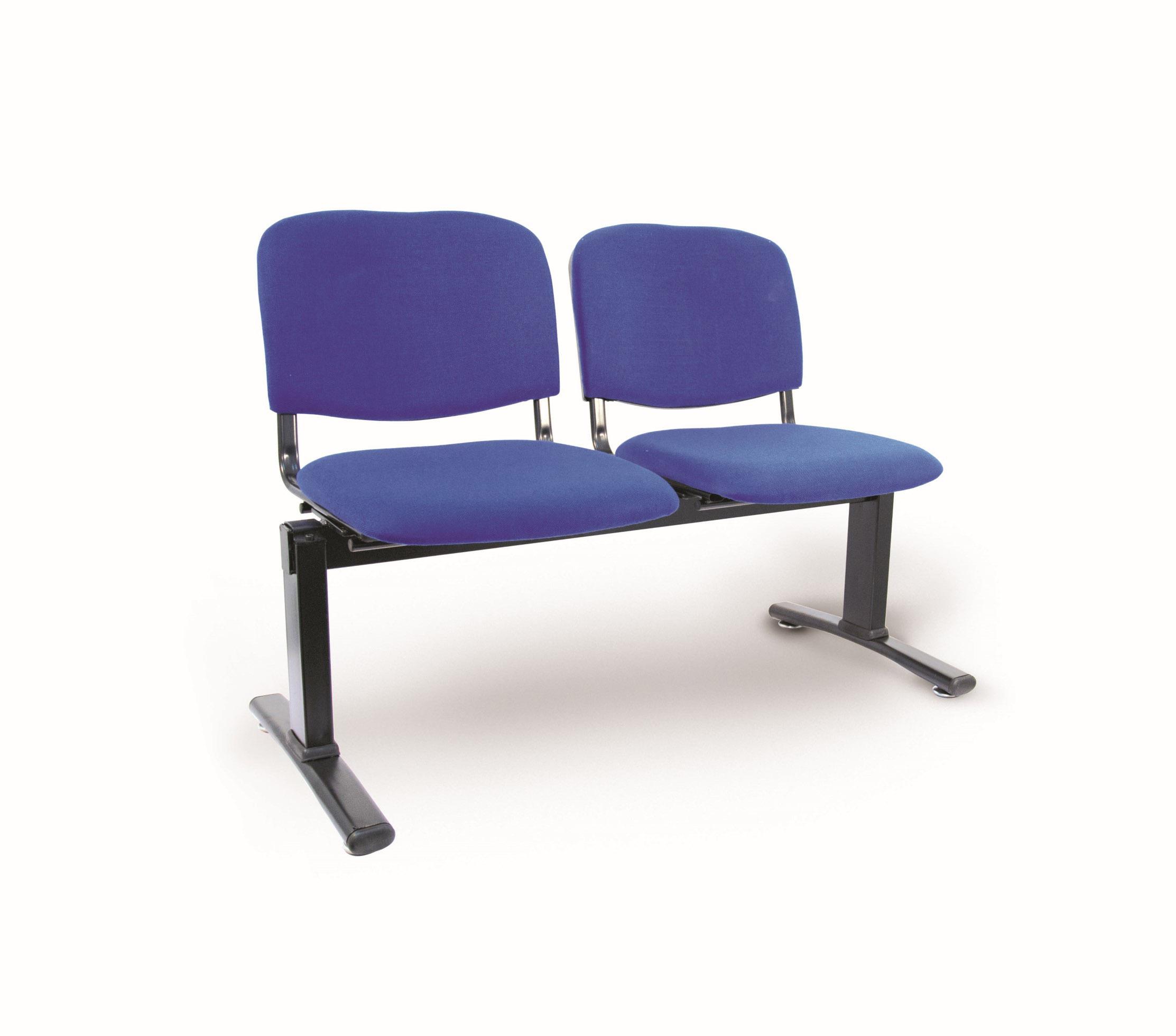 Bancada 2 puestos aran azul