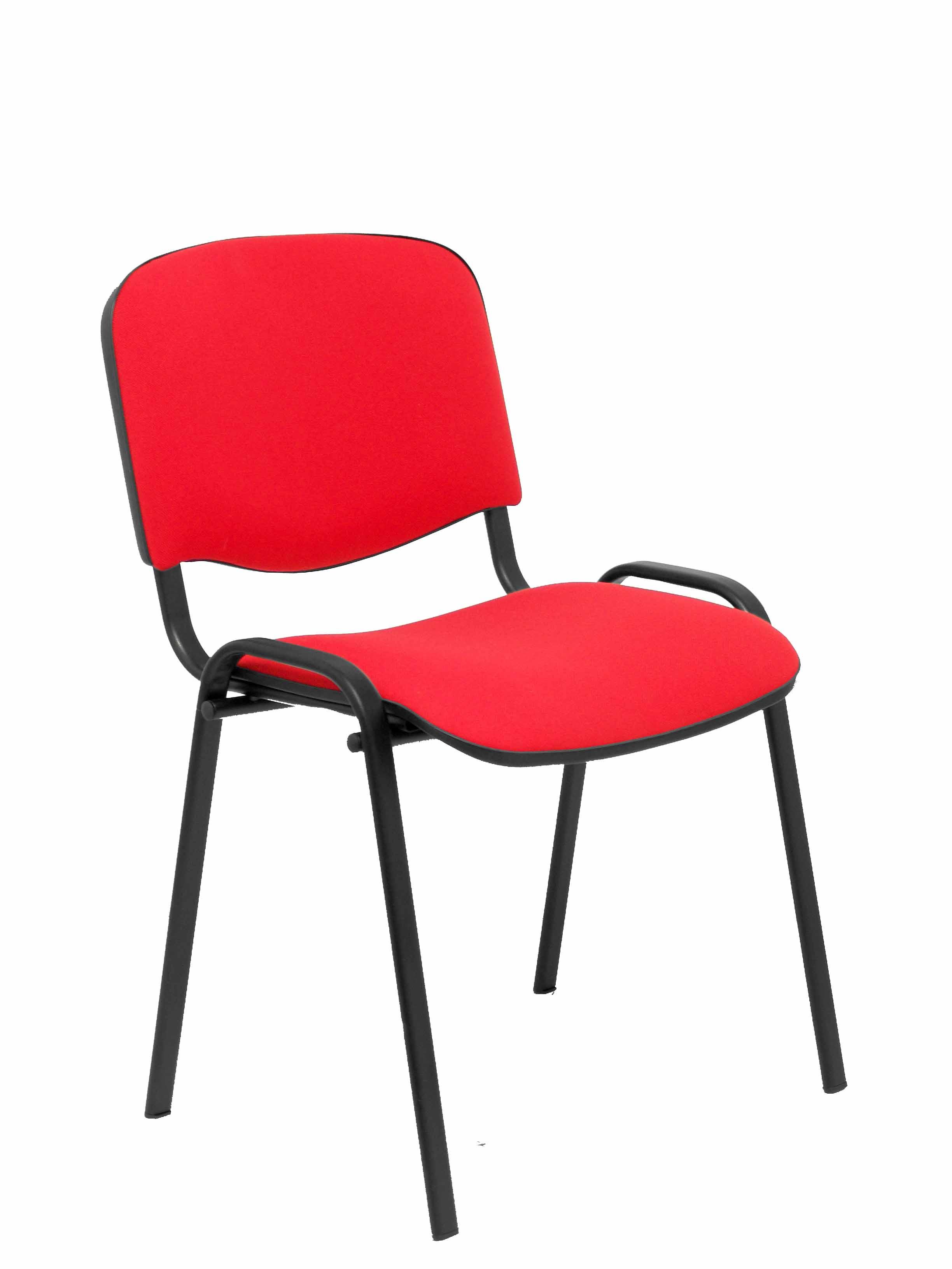 Pack 4 sillas Alcaraz arán rojo