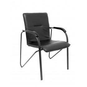 Pack 2 sillas Balsa similpiel negro