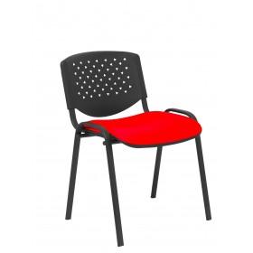 Pack 4 sillas Petrola similpiel rojo