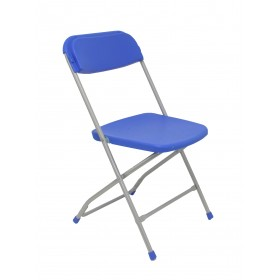 Pack 5 sillas plegables Viveros Azul