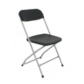 Pack 5 sillas plegables Viveros negra